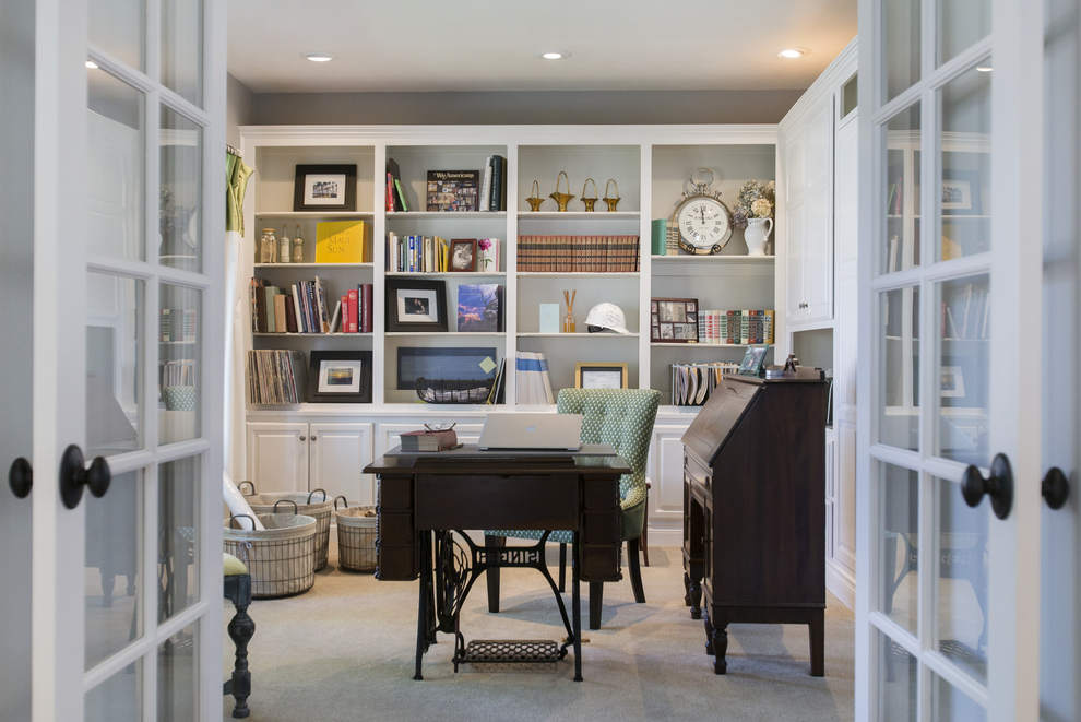 Wright Interiors Home Office Remodel