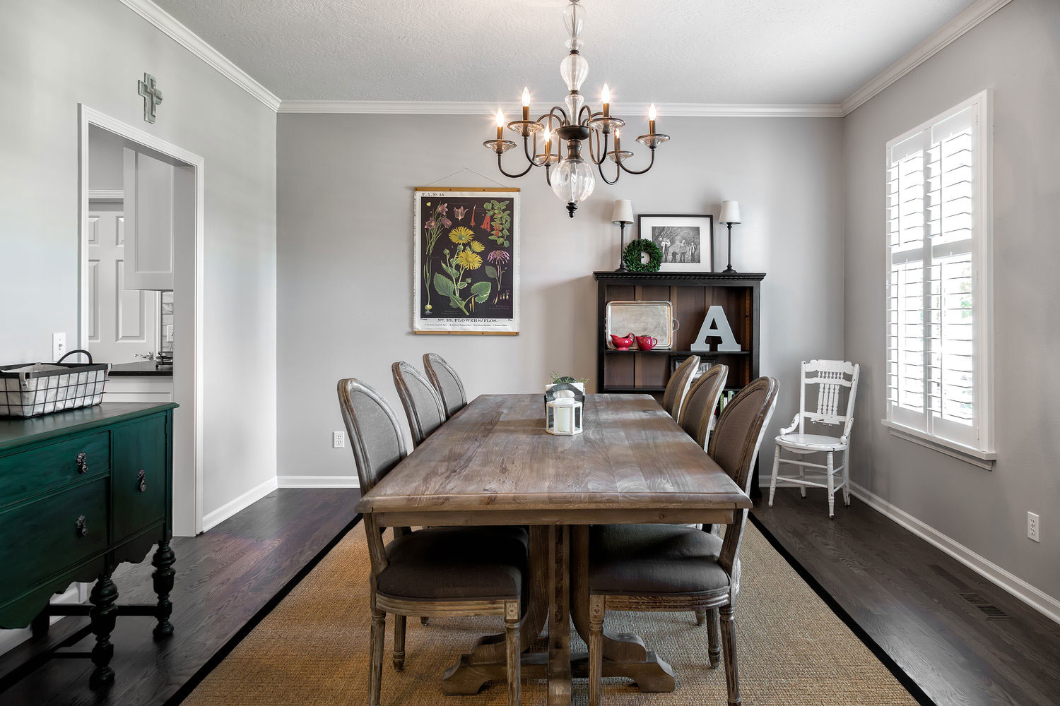 Wright Interiors Dining Room Remodel