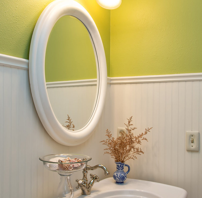 Wright Interiors Utility Bathroom Remodel